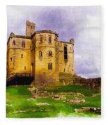 Warkworth Castle Fleece Blanket