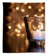 Warm Christmas Glow Fleece Blanket