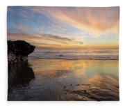 Warm Glow Of Memory Fleece Blanket