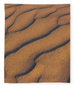 Warm Sand Fleece Blanket