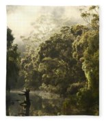 Warren River - Western Australia 2am-113012 Fleece Blanket