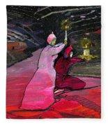 Warriors Of The Light Fleece Blanket