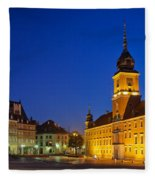Warsaw By Night Fleece Blanket