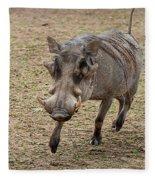 Warthog Approach Fleece Blanket