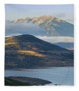 Wasatch Dawn Fleece Blanket