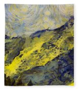 Wasatch Range Spring Colors Fleece Blanket