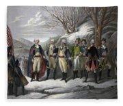 Washington & Generals Fleece Blanket