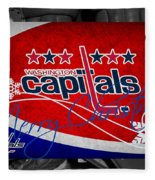 Washington Capitals Christmas Fleece Blanket