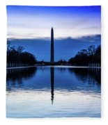 Washington D.c. - Washington Monument Fleece Blanket