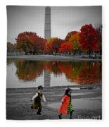 Washington Fall Children Fleece Blanket