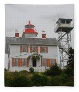 Washington Light House Fleece Blanket