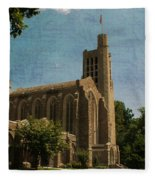 Washington Memorial Chapel Fleece Blanket