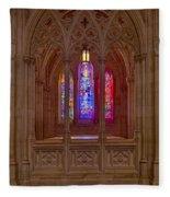Washington National Cathedral Colors Fleece Blanket