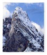 Washington Pass Peak Fleece Blanket