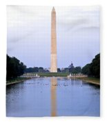 Washington Reflects Fleece Blanket
