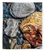 Washington River Rock Fleece Blanket