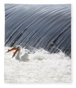 Washington White Pelicans Fleece Blanket