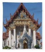 Wat Amarintaram Ubosot Dthb1507 Fleece Blanket