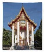 Wat Burapa Ubosot Dthu400 Fleece Blanket