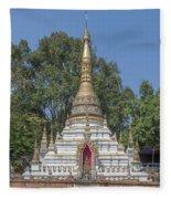 Wat Chai Monkol Phra Chedi Dthcm0860 Fleece Blanket