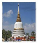 Wat Phrasri Mahathat Phra Chedi Srimahatha Dthb1473 Fleece Blanket