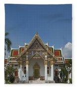 Wat Phrasri Mahathat Ubosot Dthb1462 Fleece Blanket