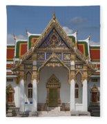 Wat Phrasri Mahathat Ubosot Dthb1464 Fleece Blanket