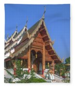 Wat Phuak Hong Phra Wihan Dthcm0581 Fleece Blanket