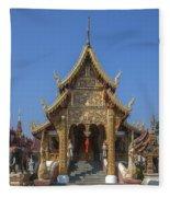 Wat Saen Muang Ma Luang Phra Wihan Dthcm0618 Fleece Blanket