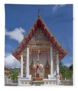 Wat Suwan Khiri Khet Ubosot Dthp269 Fleece Blanket