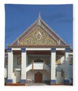 Wat Thewasunthon Preaching Hall Or Sala Kan Prien Dthb1422 Fleece Blanket