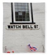 Watch Bell Street Rye Fleece Blanket