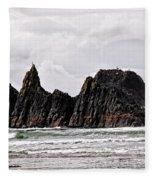 Watchful Eye Of Seal Rock Fleece Blanket
