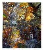 Water Abstract 2 Fleece Blanket