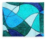 Water Abstract Fleece Blanket