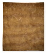 Water And Sand Background Fleece Blanket