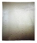 Water Drops Fleece Blanket