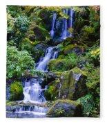 Water Fall Fleece Blanket