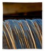 Water Falls Edge 3 Fleece Blanket