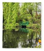 Water Garden Wonder Fleece Blanket