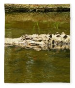 Water Gator Fleece Blanket