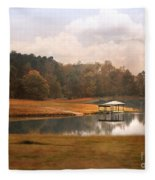 Water Gazebo Fleece Blanket