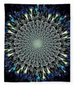 Water Glyph Fleece Blanket