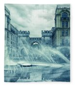Water In The City Fleece Blanket