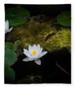 Water Lilies Fleece Blanket