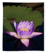 Water Lilies Monet Fleece Blanket