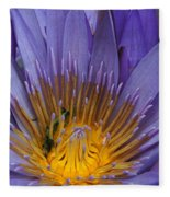 water lily from Madagascar Fleece Blanket