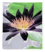 Water Lily - Purple Power - Photopower 1377 Fleece Blanket