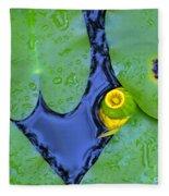 Water Plants 3 Fleece Blanket