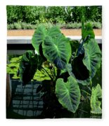 Water Plants Fleece Blanket
